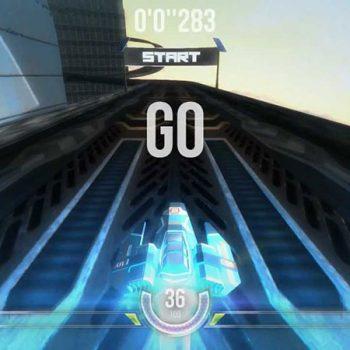 Game đua xe - HexGL