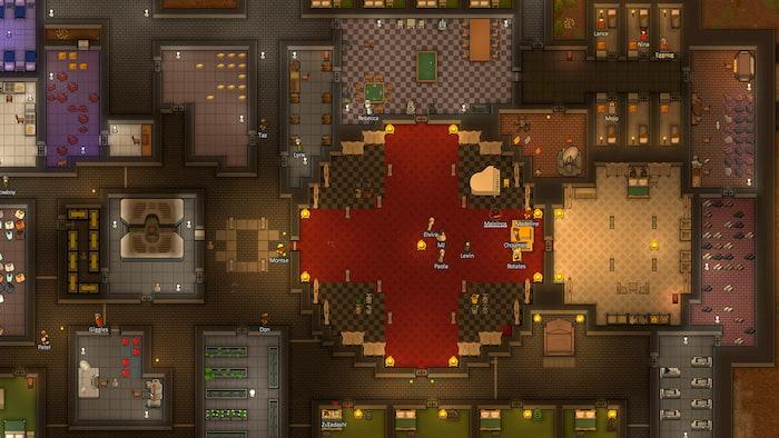 Game xây nhà Rimworld