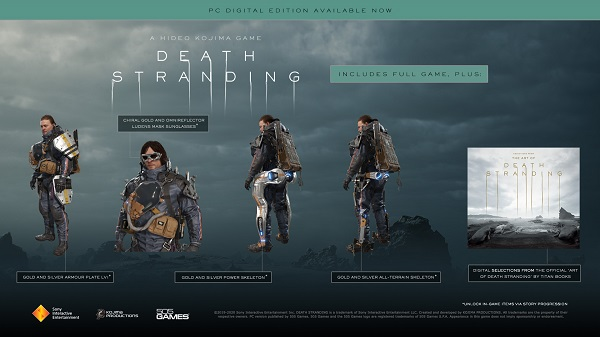 Death Stranding - Game online đồ hoạ đẹp