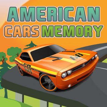 Game trí nhớ tìm 2 ảnh giống nhau - American Cars Memory