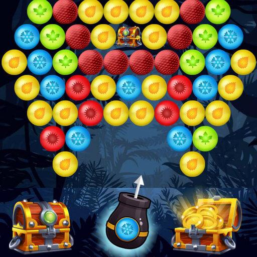 Game bắn bóng - Bubble Shooter Golden Chests