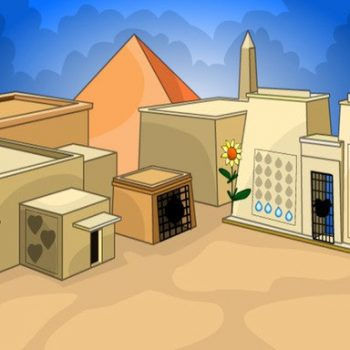 Game giải cứu - Egypt Colony Escape