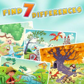 Game tìm 7 điểm khác nhau - Find 7 Differences