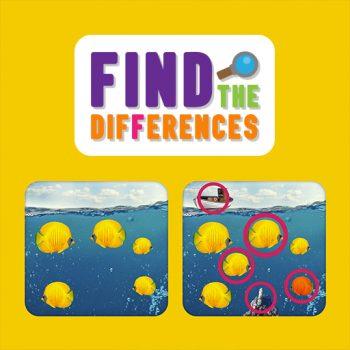 Game tìm điểm khác nhau - Find the Differences