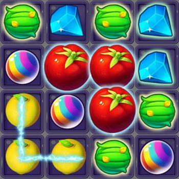 Game nối hoa quả - Harvest Farm