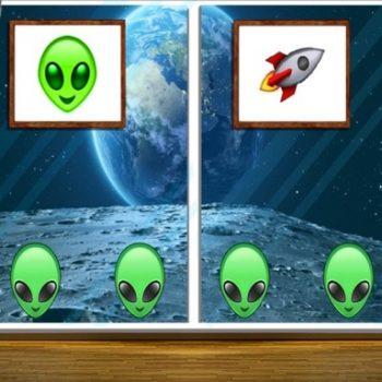 Game giải cứu - Space House Escape