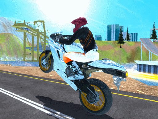 Game đua xe - FURY BIKE RIDER (PC only)
