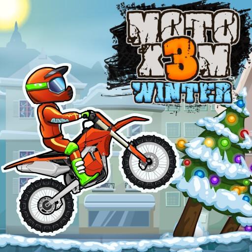Game đua xe - MOTO X3M 4 WINTER