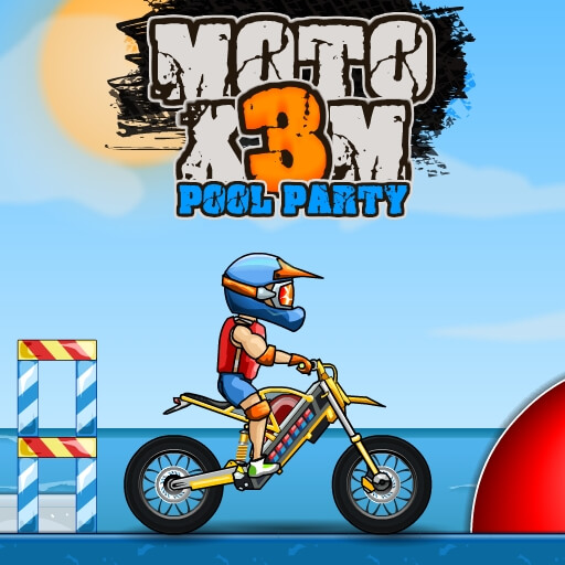 Game đua xe - MOTO X3M POOL PARTY