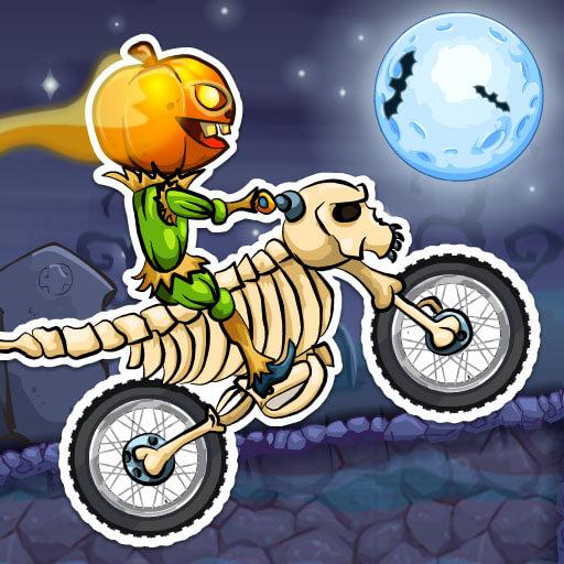 Game đua xe moto - MOTO X3M SPOOKY LAND