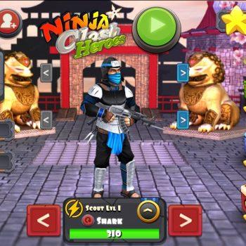 Game bắn súng online - NINJA CLASH HEROES