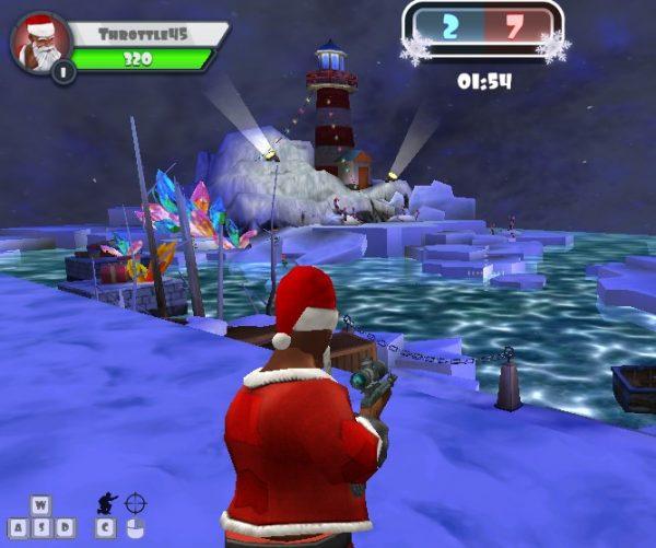 Game bắn súng online multiplayer - WINTER CLASH 3D