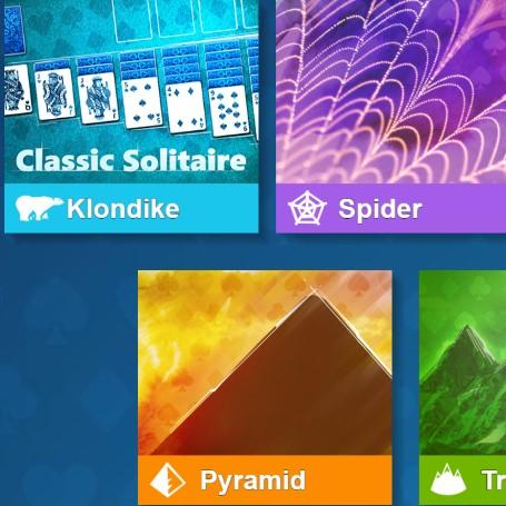 Game bài Microsoft Solitaire - Tất cả trong 1