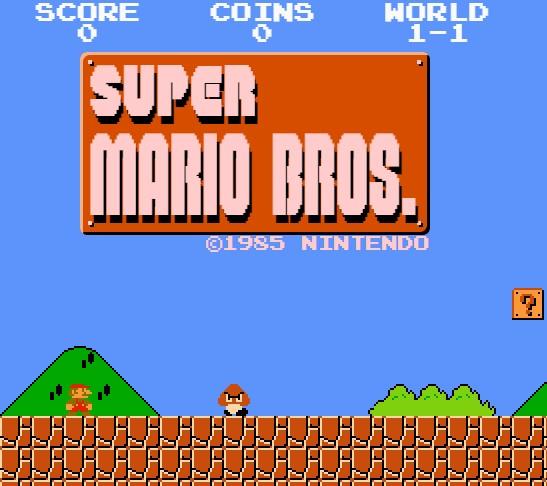 Game Mario Online bản Classic - Super mario bros